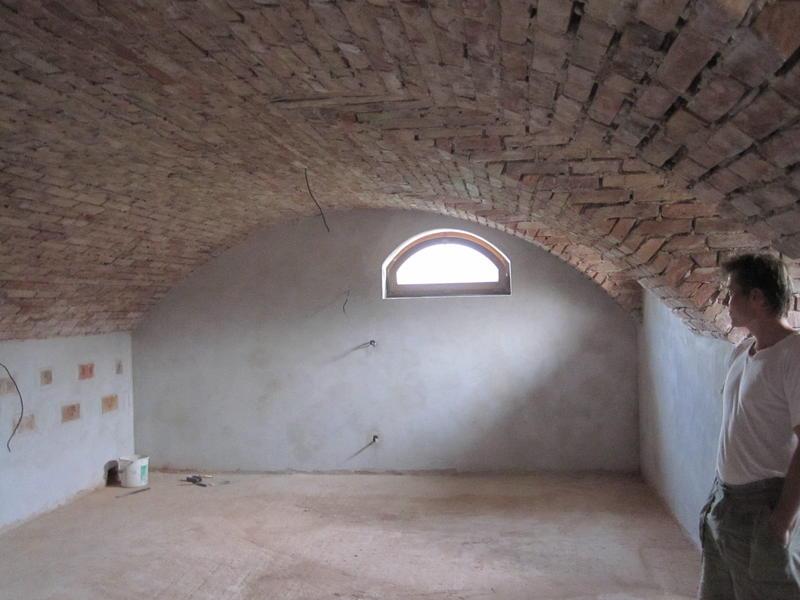 Building A Cross Barrel Vaulted Ceiling 3
